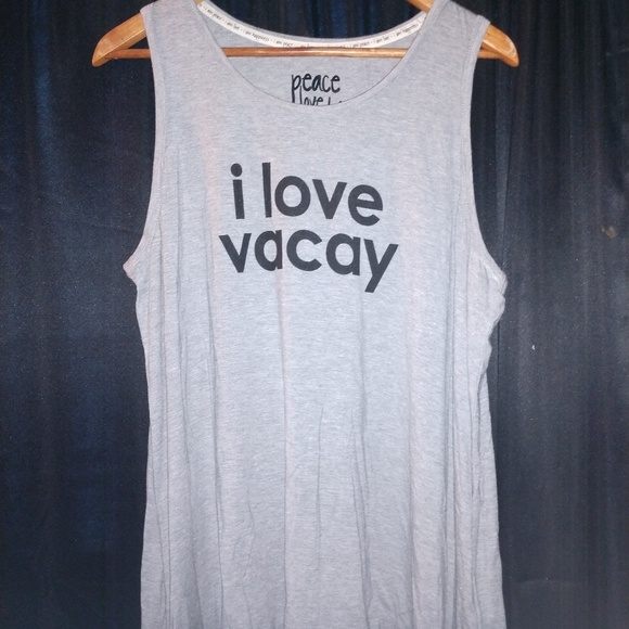 Peace Love World Tops - NWOT! Peace Love World Tank top